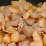ほっこり♪ 豚肉とこんにゃく&大根の煮物♡