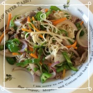 カラフル素麺チャンプル꒰ ♡´∀`♡ ꒱
