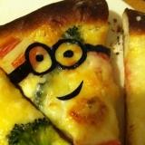 かにかまホワイトソースピザ