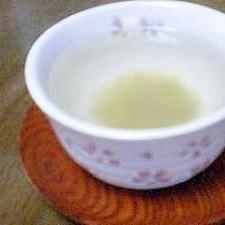 昆布茶①あったまる~*^^*しょうが昆布茶 簡単よ