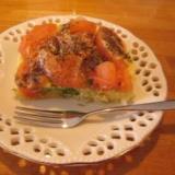 電子レンジで 3 分蒸しケークサレ(野菜たっぷり)