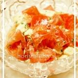 美味しい!*トマトとクリームチーズのサラダ*