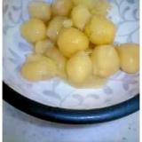圧力鍋でひよこ豆の甘煮。加圧3分!