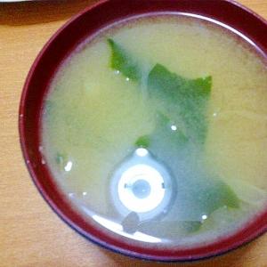 味噌汁(ねぎ・わかめ)