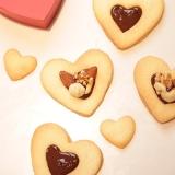 バレンタインに♪簡単!ハートチョコクッキー♪