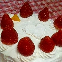 しっとりショートケーキ
