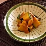 南瓜の生姜甘煮