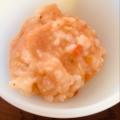 離乳食 中期 鶏ひき肉とトマトのリゾット