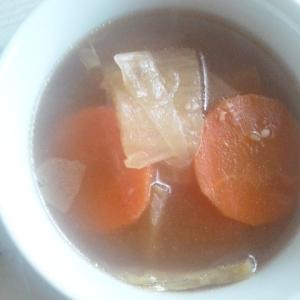レンジで簡単具沢山スープ