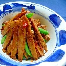 辛味きんぴらごぼう中華風