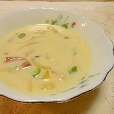 豆乳スープ
