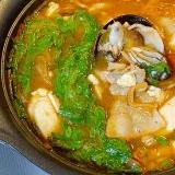 熟成キムチが旨い! 「牡蠣のキムチチゲ」