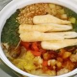 野菜たっぷり きりたんぽ鍋