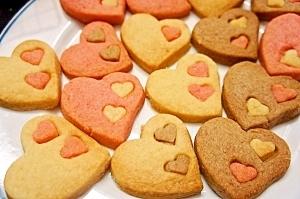 バレンタインに ハートのサクサククッキー by プッチン5903 ...