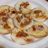 ホットプレートで簡単餃子の皮ピザ