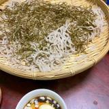 深大寺蕎麦の大和芋のトロロそば。
