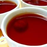 栗の渋皮煮の煮汁で作る…チョ~簡単ゼリー♪