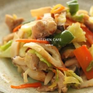 塩麹野菜炒め