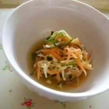 切干大根の中華風酢の物