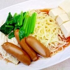豆腐とえのきタップリ冷麺★