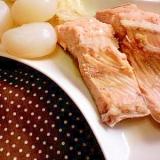 鮭と白菜の煮込み(生姜風味)