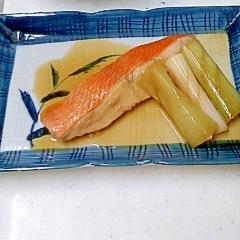 レンジで簡単♪ 金目鯛の煮つけ カレイ・冷凍魚も