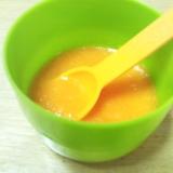 カルピス トマト ネーブルオレンジで離乳食