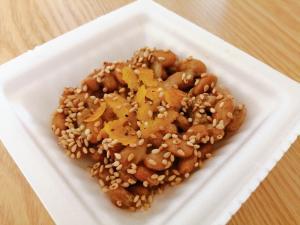 柚子とごまとブラックペッパーの納豆