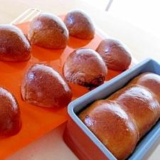 チョコレートバターロール★