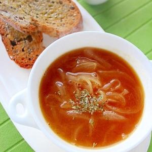 塩麹で簡単オニオンスープ