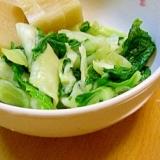 杓子菜(しゃくな)の漬物