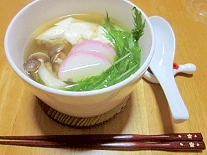レンジで1人前が簡単♪ くずし豆腐で「湯豆腐」
