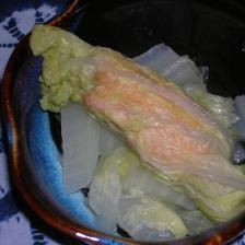☆酒蒸し~~♪☆鮭のロール白菜