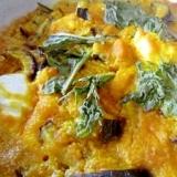南瓜茄子チーズグラタン
