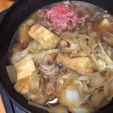 大根と牛肉のすき焼き風鍋