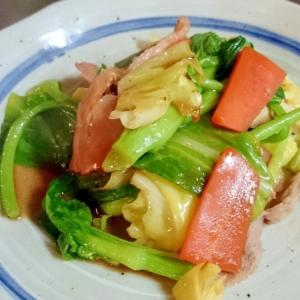 野菜のポン酢炒め♪