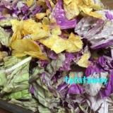 紫白菜の簡単サラダ