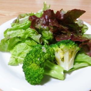 サニーレタスとブロッコリーのサラダ