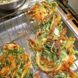 野菜がおいしい!食べ過ぎ注意の野菜かき揚げ