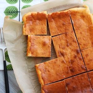ブレンダーで、ヨーグルトベイクドチーズケーキ