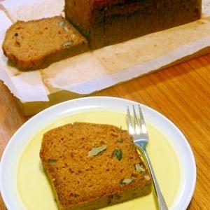 バター・量り不要★なたね油で作る簡単ニンジンケーキ