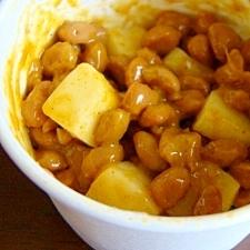 まろやかコクのチーズカレー納豆