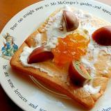5,6分!?パン耳で❤水切りヨーグルトのトースト♪