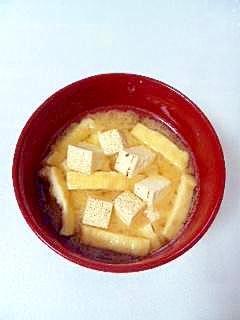 ☆焼き豆腐とねぎのお味噌汁☆