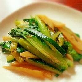 グリーン野菜のアジアン炒め