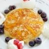 ホットケーキミックスでモチモチ柚子お焼き(卵なし)