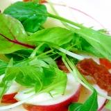 干し柿と林檎のサラダ
