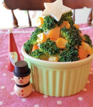 ☆ポテトサラダのクリスマスツリー☆