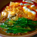鱈と豚バラのキムチチゲ鍋