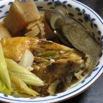 ブリと根菜の煮物